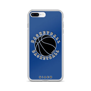 Basketball iPhone Case (Blue 2)