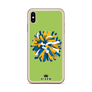 Cheerleader iPhone Case (Green 3)