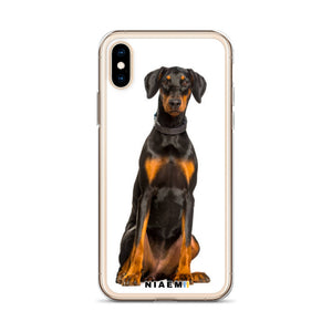 Dobermann Dog breed iPhone Case II