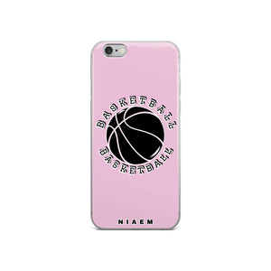 Basketball iPhone Case (Pink 4)