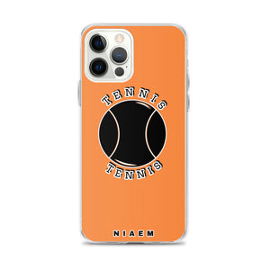 Tennis iPhone Case (Orange 1)