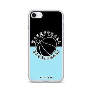 Basketball iPhone Case (Black & Blue 6)