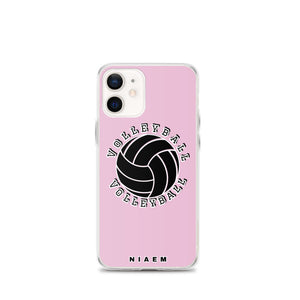 Volleyball iPhone Case (Pink 4)