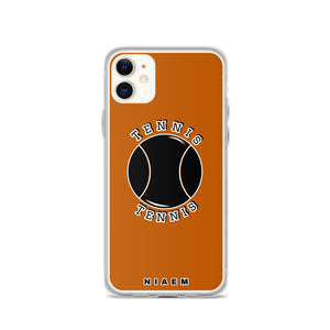 Tennis iPhone Case (Brown 1)