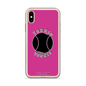 Tennis iPhone Case (Pink 5)
