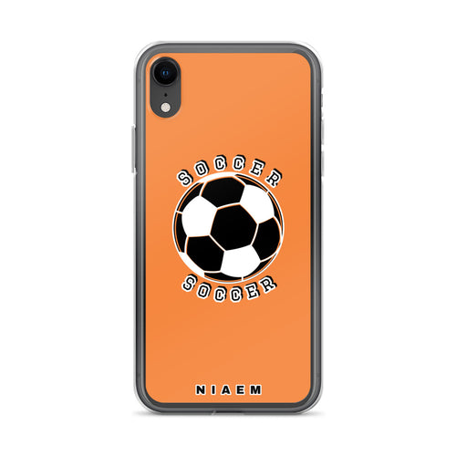 Soccer iPhone Case (Orange)