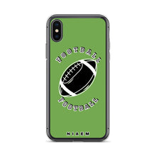 Load image into Gallery viewer, Football iPhone Case (Green)