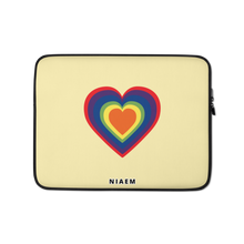 Load image into Gallery viewer, Colorful Heart Laptop Sleeve III