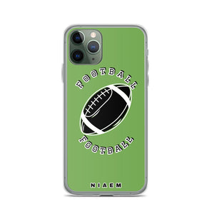 Football iPhone Case (Green)