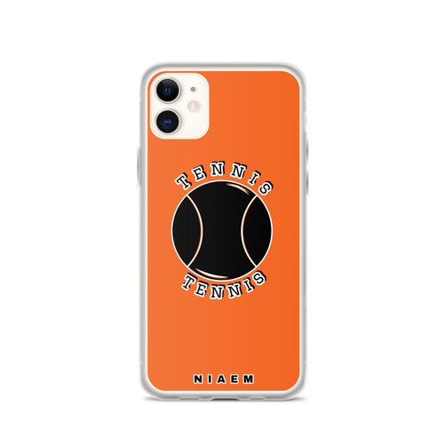 Tennis iPhone Case (Orange)