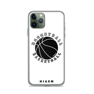 Basketball iPhone Case (White)