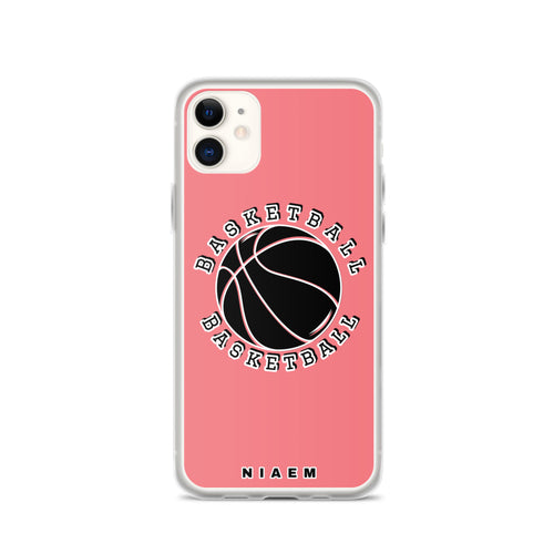 Basketball iPhone Case (Pink 2)