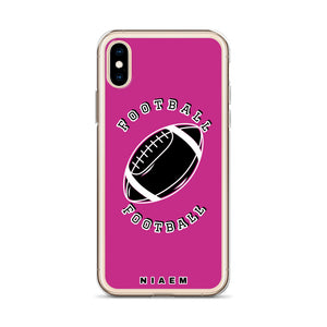 American Football iPhone Case (Pink)