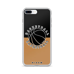 Basketball iPhone Case (Black & Nude)