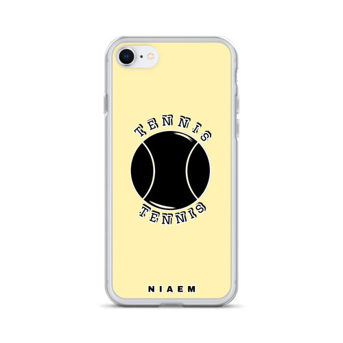 Tennis iPhone Case (Yellow 2)