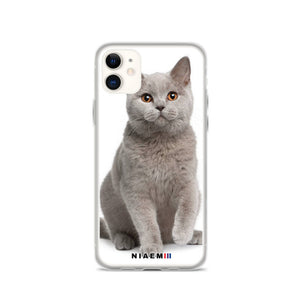 British Shorthair Cat iPhone Case II