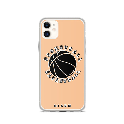 Basketball iPhone Case (Nude 1)