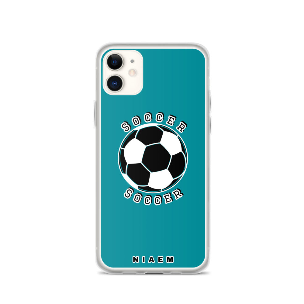 Soccer iPhone Case (Blue 3)