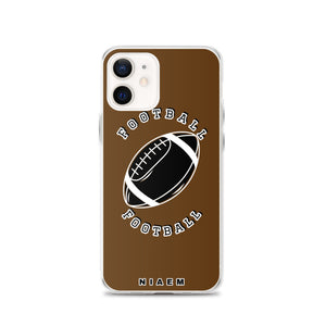 American Football iPhone Case (Brown)