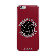 Load image into Gallery viewer, Volleyball iPhone Case (Red 2)