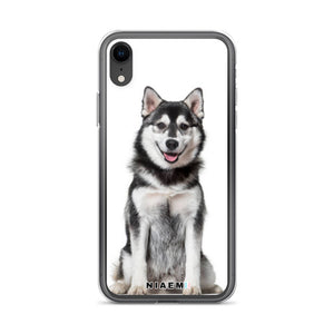 Siberian Husky Dog breed iPhone Case II
