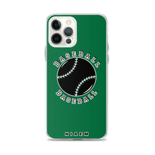 Load image into Gallery viewer, Baseball iPhone Case (Green 1)