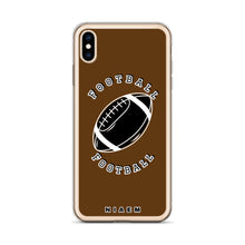 Load image into Gallery viewer, American Football iPhone Case (Brown)