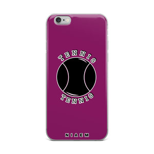 Tennis iPhone Case (Pink 6)