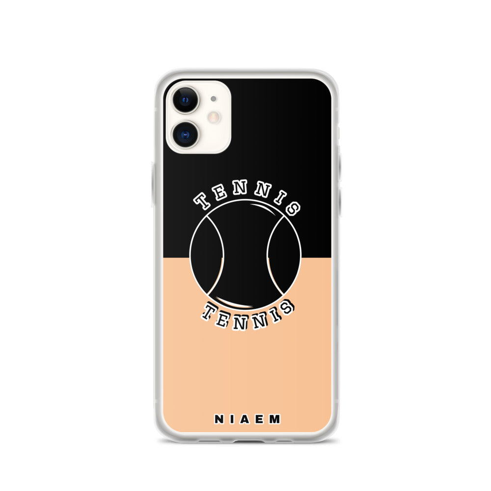 Tennis iPhone Case (Black & Nude 1)