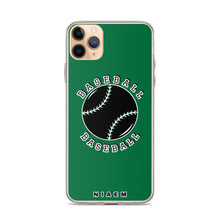 Load image into Gallery viewer, Baseball iPhone Case (Green)