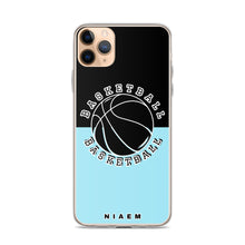 Load image into Gallery viewer, Basketball iPhone Case (Black & Blue 6)
