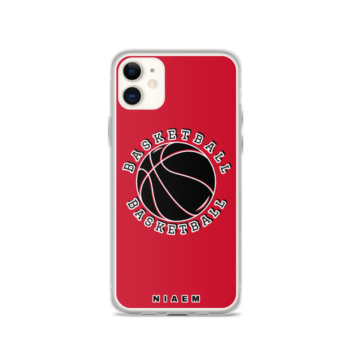 Basketball iPhone Case (Red)