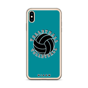 Volleyball iPhone Case (Blue 3)