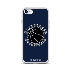 Basketball iPhone Case (Navy)