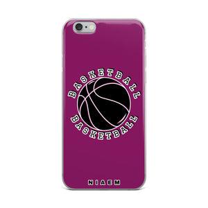 Basketball iPhone Case (Pink 6)