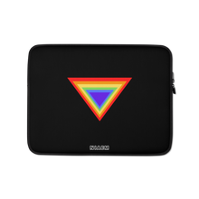 Load image into Gallery viewer, Black Triangle MacBook Laptop Sleeve