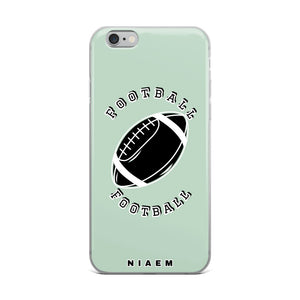 Football iPhone Case (Green 5)