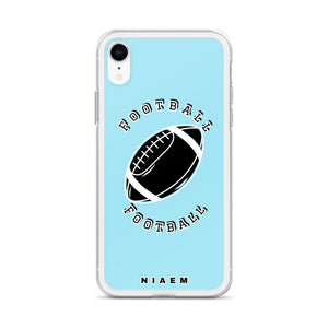 Football iPhone Case (Blue 6)