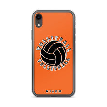 Load image into Gallery viewer, Volleyball iPhone Case (Orange)