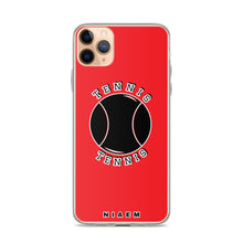 Load image into Gallery viewer, Tennis iPhone Case (Red)