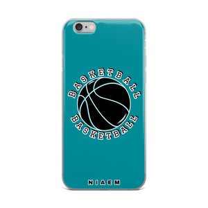 Basketball iPhone Case (Blue 3)