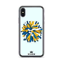 Load image into Gallery viewer, Cheerleader iPhone Case (Blue 5)