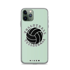 Volleyball iPhone Case (Green 5)