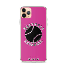 Load image into Gallery viewer, Baseball iPhone Case (Pink 5)