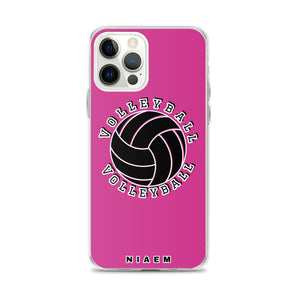 Volleyball iPhone Case (Pink 5)