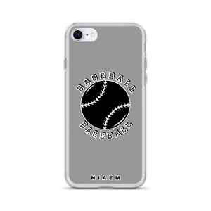 Baseball iPhone Case (Grey 1)