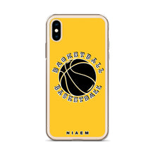 Load image into Gallery viewer, Basketball iPhone Case (Yellow)