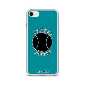 Tennis iPhone Case (Blue 3)