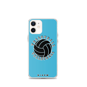 Blue volleyball iPhone 12 Mini phone cases