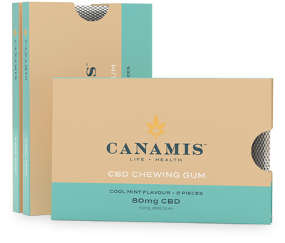 Canamis Curated CBD for Recovery – Orange